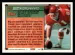 1994 Topps #427  Tim Grunhard  Back Thumbnail