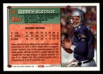 1994 Topps #360   -  Drew Bledsoe Special Effects Back Thumbnail