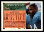 1994 Topps #406  Glenn Montgomery  Back Thumbnail