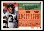 1994 Topps #431  Leroy Thompson  Back Thumbnail