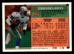 1994 Topps #322  Michael Bates  Back Thumbnail