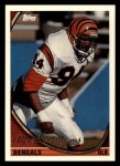 1994 Topps #428  Alfred Williams  Front Thumbnail