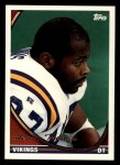 1994 Topps #405  Henry Thomas  Front Thumbnail