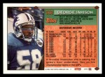 1994 Topps #368  George Jamison  Back Thumbnail