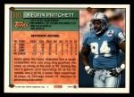 1994 Topps #393  Kelvin Pritchett  Back Thumbnail