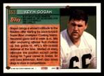 1994 Topps #353  Kevin Gogan  Back Thumbnail