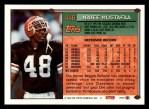 1994 Topps #446  Najee Mustafaa  Back Thumbnail