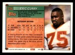 1994 Topps #336  Eric Curry  Back Thumbnail