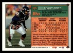 1994 Topps #307  Terry Obee  Back Thumbnail