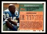 1994 Topps #449  Kevin Scott  Back Thumbnail
