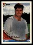 1994 Topps #345  Scott Mitchell  Front Thumbnail
