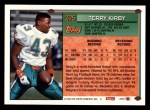 1994 Topps #375  Terry Kirby  Back Thumbnail