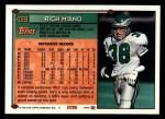 1994 Topps #439  Rich Miano  Back Thumbnail