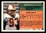 1994 Topps #464  Demetrius DuBose  Back Thumbnail