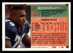 1994 Topps #523  Leon Lett  Back Thumbnail