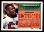 1994 Topps #635  Michael Bankston  Back Thumbnail