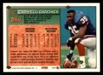 1994 Topps #632  Carwell Gardner  Back Thumbnail