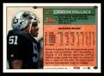 1994 Topps #567  Aaron Wallace  Back Thumbnail