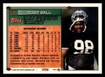 1994 Topps #593  Jerry Ball  Back Thumbnail