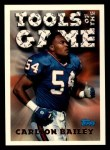 1994 Topps #546   -  Carlton Bailey Tools of the Game Front Thumbnail