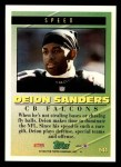 1994 Topps #544   -  Deion Sanders Tools of the Game Back Thumbnail