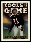 1994 Topps #544   -  Deion Sanders Tools of the Game Front Thumbnail