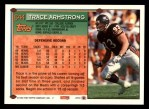 1994 Topps #644  Trace Armstrong  Back Thumbnail