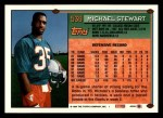 1994 Topps #539  Michael Stewart  Back Thumbnail