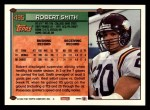 1994 Topps #495  Robert Smith  Back Thumbnail