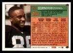 1994 Topps #458  Rocket Ismail  Back Thumbnail