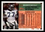 1994 Topps #518  Jeff Bryant  Back Thumbnail