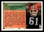 1994 Topps #590  Steve Everitt  Back Thumbnail