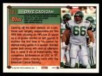 1994 Topps #561  Dave Cadigan  Back Thumbnail