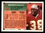 1994 Topps #637  Kimble Anders  Back Thumbnail