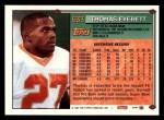 1994 Topps #633  Thomas Everett  Back Thumbnail