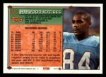 1994 Topps #496  Haywood Jeffires  Back Thumbnail