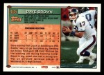 1994 Topps #465  Dave Brown  Back Thumbnail