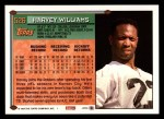 1994 Topps #526  Harvey Williams  Back Thumbnail