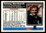 1995 Topps #42  Tommy Barnhardt  Back Thumbnail