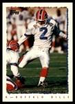1995 Topps #46  Steve Christie  Front Thumbnail