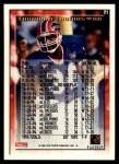 1995 Topps #21  Thurman Thomas  Back Thumbnail