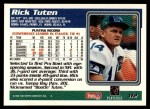 1995 Topps #112  Rick Tuten  Back Thumbnail