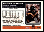 1995 Topps #90  Donnell Woolford  Back Thumbnail