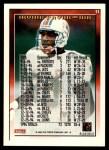 1995 Topps #11  Irving Fryar  Back Thumbnail