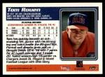 1995 Topps #126  Tom Rouen  Back Thumbnail