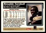 1995 Topps #142  Renaldo Turnbull  Back Thumbnail