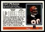 1995 Topps #125  Carl Pickens  Back Thumbnail