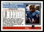 1995 Topps #88  Glenn Montgomery  Back Thumbnail