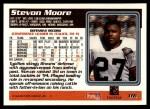 1995 Topps #116  Stevon Moore  Back Thumbnail