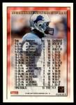 1995 Topps #16  Herman Moore  Back Thumbnail